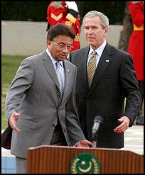Bush, Musharraf